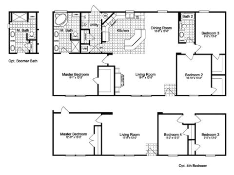 Palm Harbor Mobile Homes Floor Plans X on