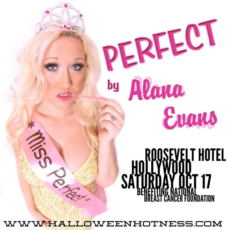Join entertainer, #AlanaEvans, as she helps our charity the National #BreastCancer Foundation at the Roosevelt Hotel Hollywood Saturday October 17. Get your tickets at www.halloweenhotness.com #blonde