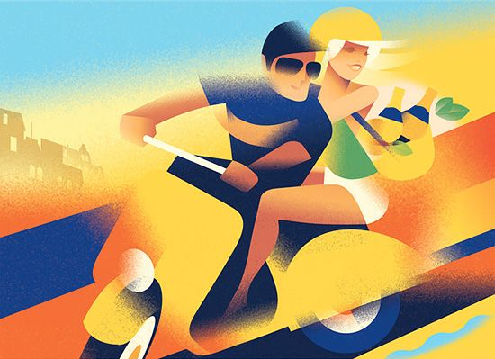 """""""Art Deco-Inspired Illustrations by Mads Berg   Inspiration Grid   Design Inspiration"""" More of his Art: http://theinspirationgrid.com/art-deco-inspired-illustrations-by-mads-berg/"""