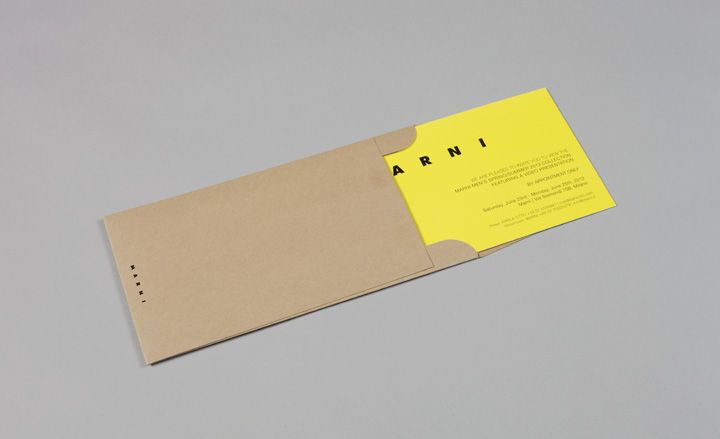 Men's fashion week S/S 2013 show invitations | Fashion | Wallpaper* Magazine: design, interiors, architecture, fashion, art