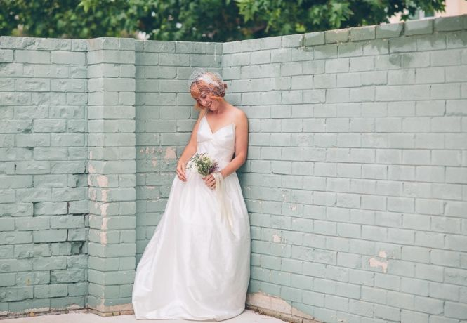 Vintage Rose Garden Bridal Inspiration - Peggy Saas Photography