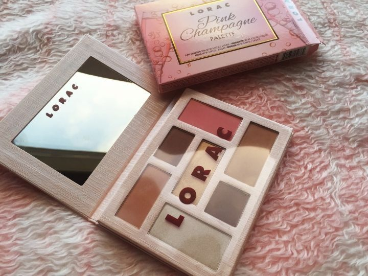 Limited Edition LORAC PINK CHAMPAGNE 7Colors Eyeshadow Matte Palette Makeup #Unbranded