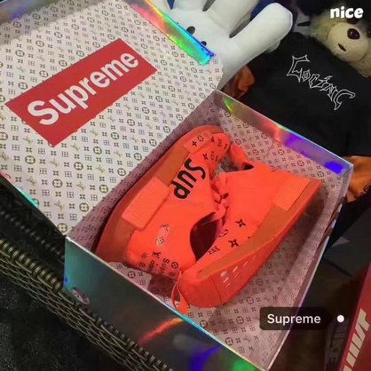 Free Shipping Only 69$ Supreme X Adidas NMD Boost All Red