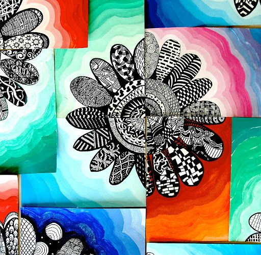 Zentangle has become such a popular and creative hobby and the more I try it the more I understand why! Zentangle is a style of drawing or doodling in which the repetition of a variety of patterns creates dynamic, uniqueresults. Zentangle drawing can also be quite relaxing. This method requires bo