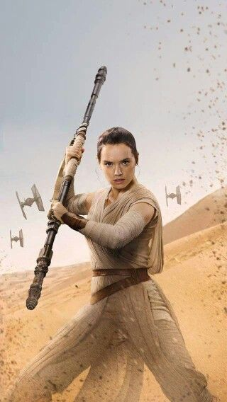 Rey. This is the character my inner brunette child has been waiting for my whole life