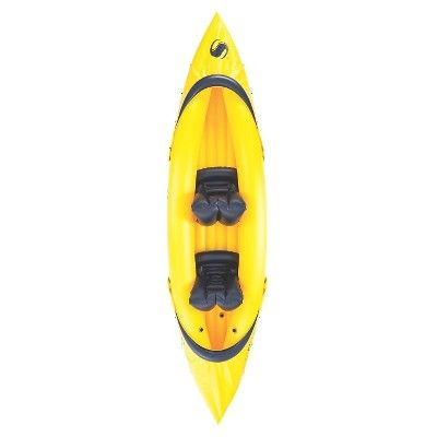 Sevylor Tahiti Classic 2-Person Kayak, Yellow