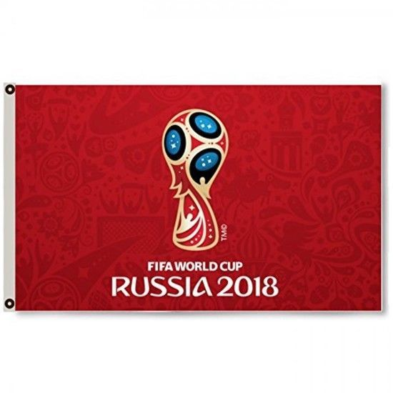 Russia Fifa World Cup 2018 Red Flag Banner 3x5feet Soccer Football Fan Flag New Discount Price 25 99 Free Shipping Buy It Now Fifa World Cup Fifa World Cup