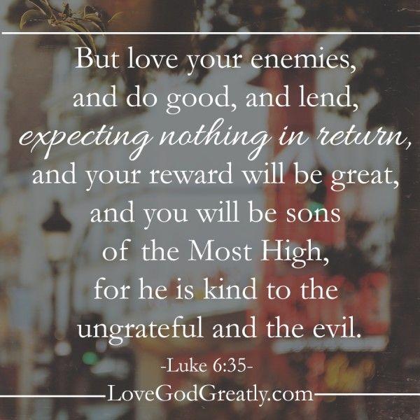 Bible Quotes Enemies: 25+ Best Ideas About Luke 6 On Pinterest