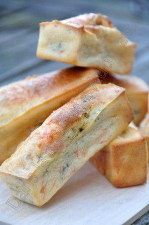 Mini cakes au saumon fumé - Dans la cuisine d'Audinette