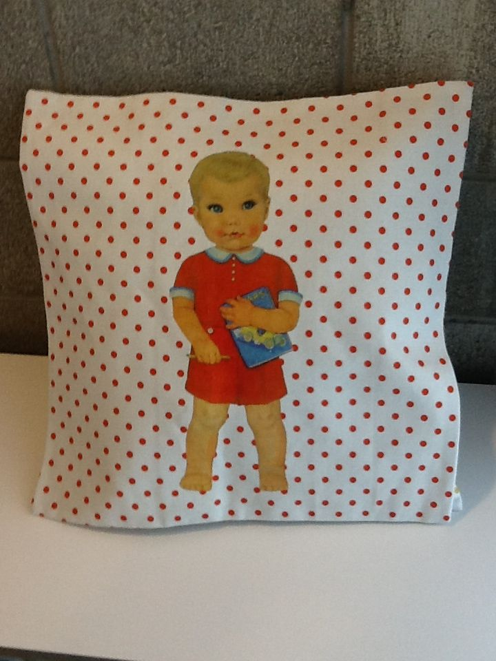 Baby doll cushions, I'm in love!