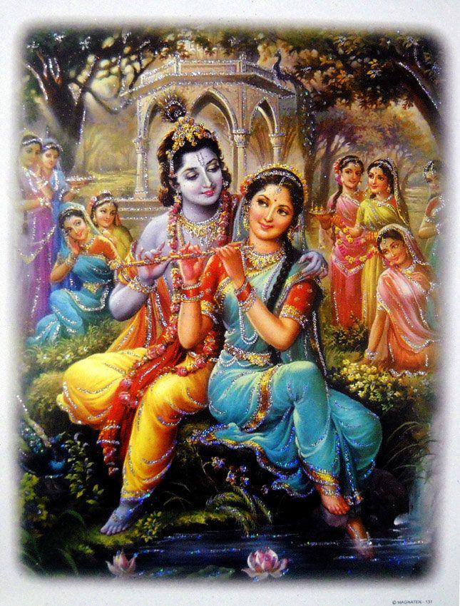 Divine Lovers Radha Krishna