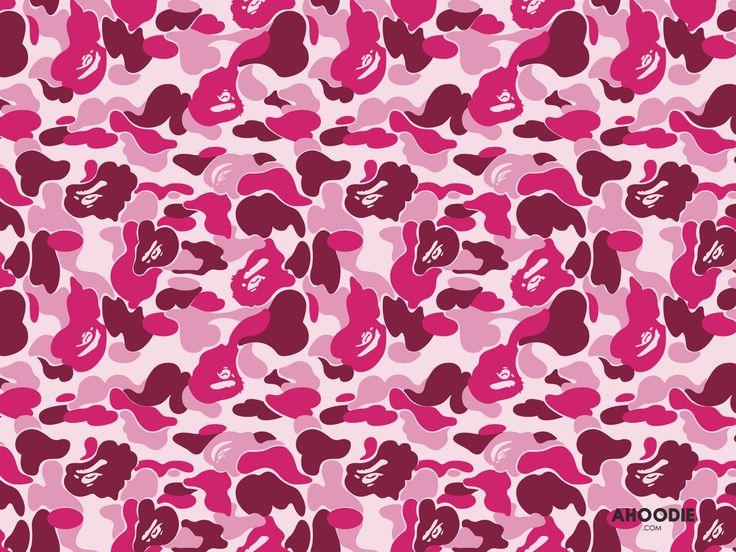 bape-camo-wallpaper-desktop_pink.jpg (1600×1200) | ㄹㄹ