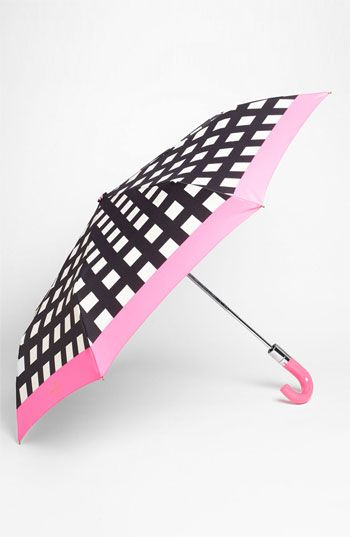 kate spade new york 'pop art' check umbrella available at #Nordstrom