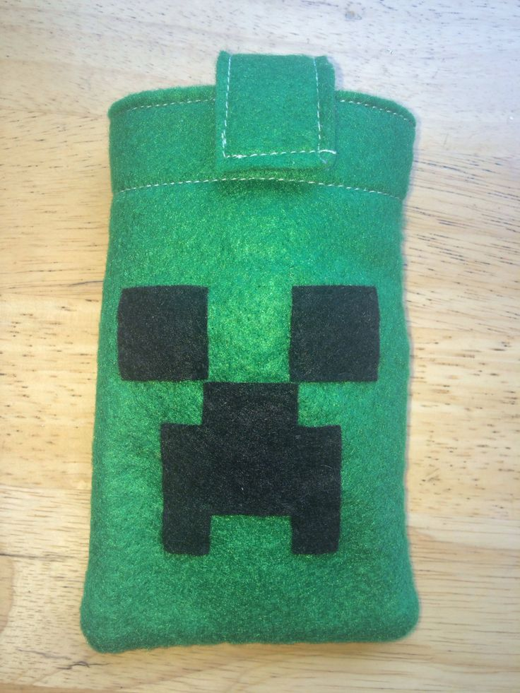 Minecraft phone cover Electronic Creeper phone case/ iPhone/ iPod 3Ds Nintendo (9.99 USD) by Mariescountryshop