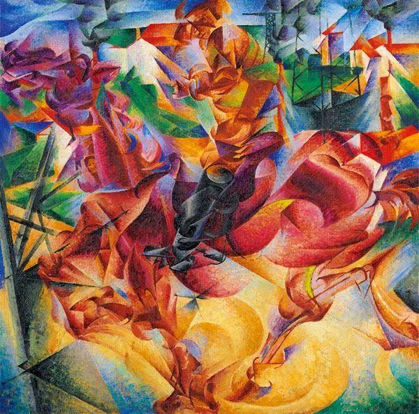 Italian Futurism, 1909–1944: Reconstructing the Universe @ Guggenheim - New York