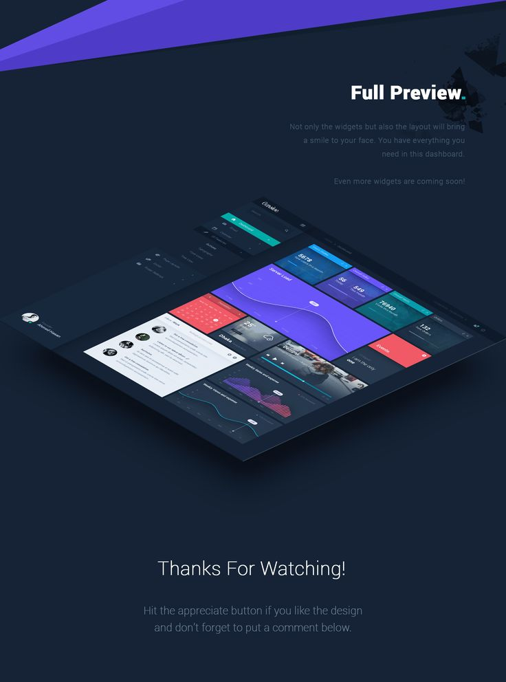Carsive is an Admin Dashboard template design. With Carsive you have everything you need in a dashboard. You have your regular statistics, new orders, user status, traffic status, inbox, music, calendar, weather and many other things. Beautiful UI and bet…
