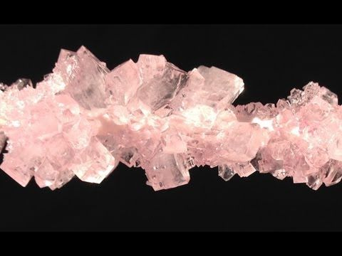Rock Candy Big Sugar Crystals HOW TO COOK THAT Ann Reardon