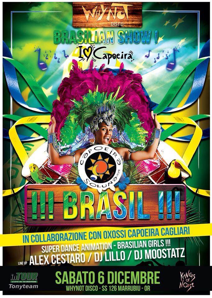 Brazilian party al WhyNotDisco  MOOSTATZ 06/12/2014