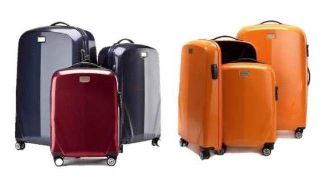 Du kan kjøpe denne alene - eller i sett av tre kofferter i forskjellige størrelser - som passer inne i hverandre og tar minimalt med lagringsplass!