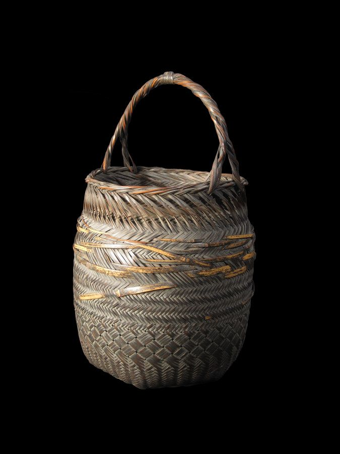Basket Weaving With Bamboo : Best asian basketry images on japanese