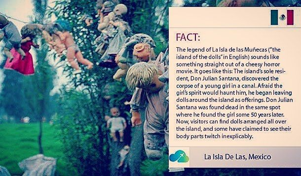 """0 Likes, 1 Comments - Uplift Ventures (@uplift_ventures) on Instagram: """"The legend of La Isla de las Muñecas (""""the island of the dolls"""" in English) sounds like something…"""""""