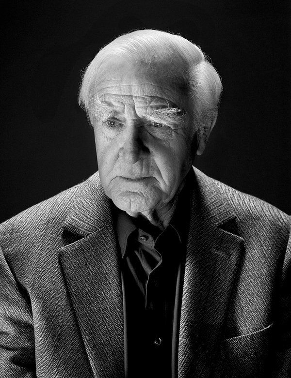 John Le Carré, photo by Nadav Kander for The New York Times