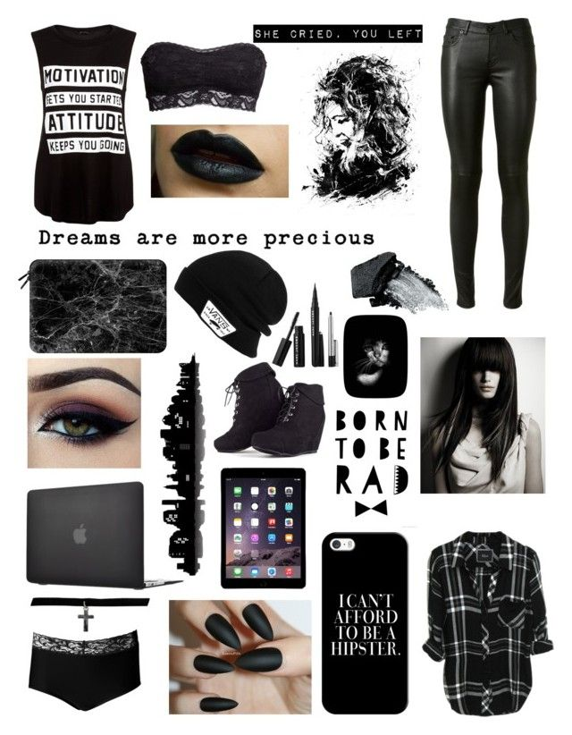 """As dark as my soul"" by explicitexposa ❤ liked on Polyvore featuring Yves Saint Laurent, ExOfficio, H&M, Ardell, Gorgeous Cosmetics, Casetify, Vans, NOVICA, Sephora Collection and Universal Lighting and Decor"