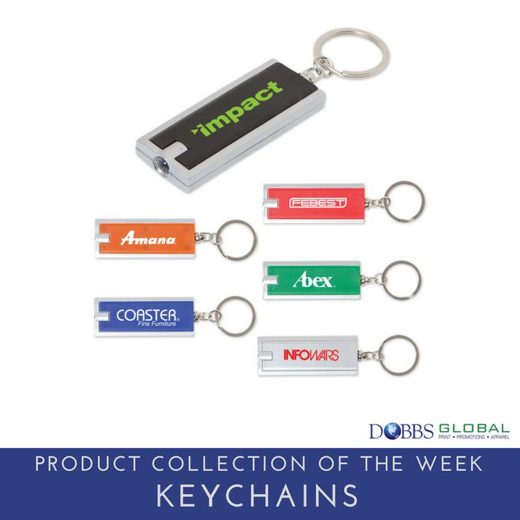 Product Collection of the Week: Keychains. Keychains can designed in a custom shape or color to represent your brand, and can also be designed to be useful. From flashlights and bottle openers, to carabiners and mini piggy banks, what keychain design is right for your company? Whichever design, don't forget to add your logo! #promotionalproducts #promoproduct #swag