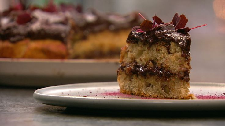 Banankage med karamelliseret chokoladeganache - TV 2