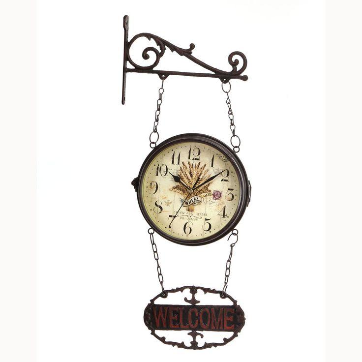 17 meilleures id es propos de grosse horloge murale sur for Grosse pendule murale design