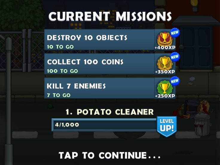 Missions / Quests