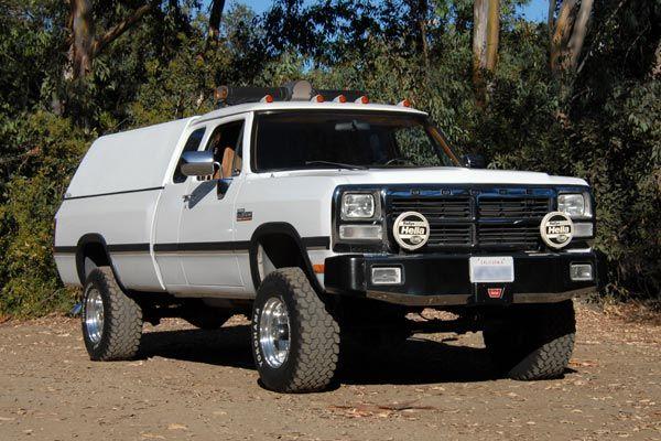 1989-1993 W-250/350 Dodge Power Ram Cummins Turbo Diesel