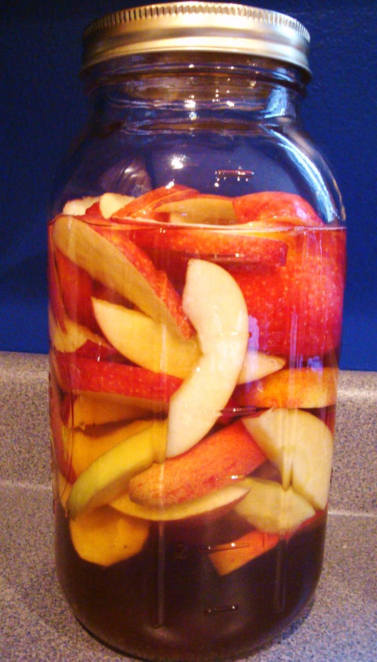 Homemade apple spiced rum. Don't know when I'd ever use this, but it seemed like a good idea to pin it.