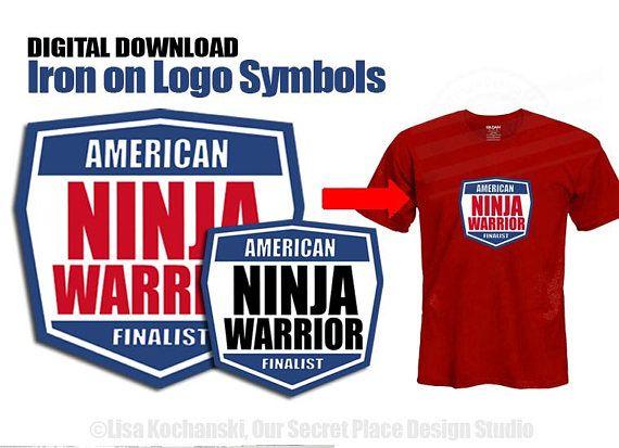 INSTANT DOWNLOAD American Ninja Warrior Party American Ninja