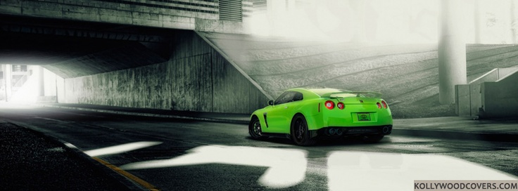 Green #Nissan #GTR 2013