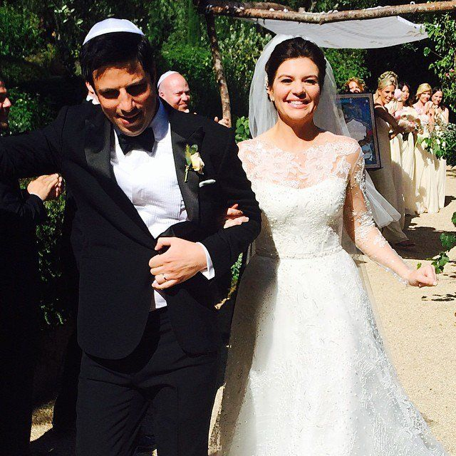 Pin for Later: Gorgeous Photos From Casey Wilson's Weekend Wedding