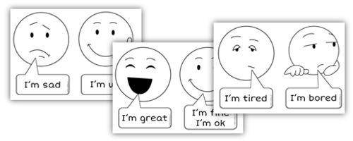 Anglais CE2 : How are you ?