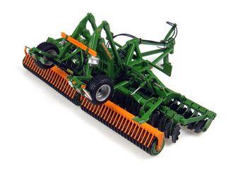 Universal Hobbies 1:32 Amazone Catros Diecast Agricultural Equipment - J4095 This Amazone Catros 6001-2TS Diecast Agricultural Equipment is Green and features working wheels. It is made by Universal Hobbies and is 1:32 scale.  #UniversalHobbies #AgriculturalModel #Amazone