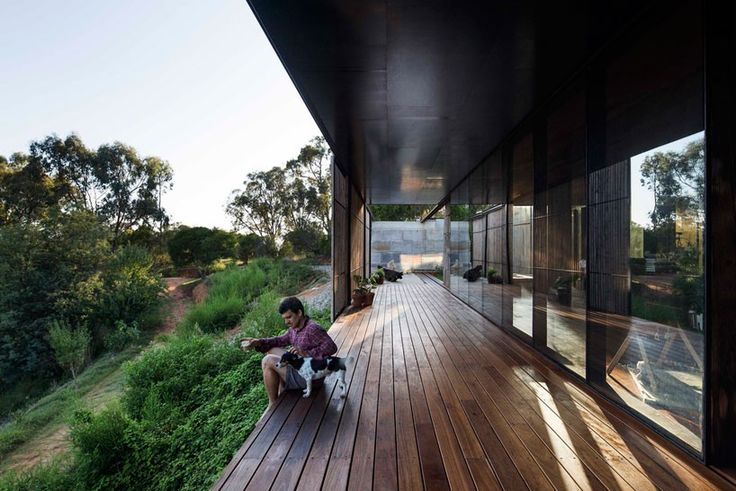 archier recycles 270 concrete blocks to create sawmill house in australia