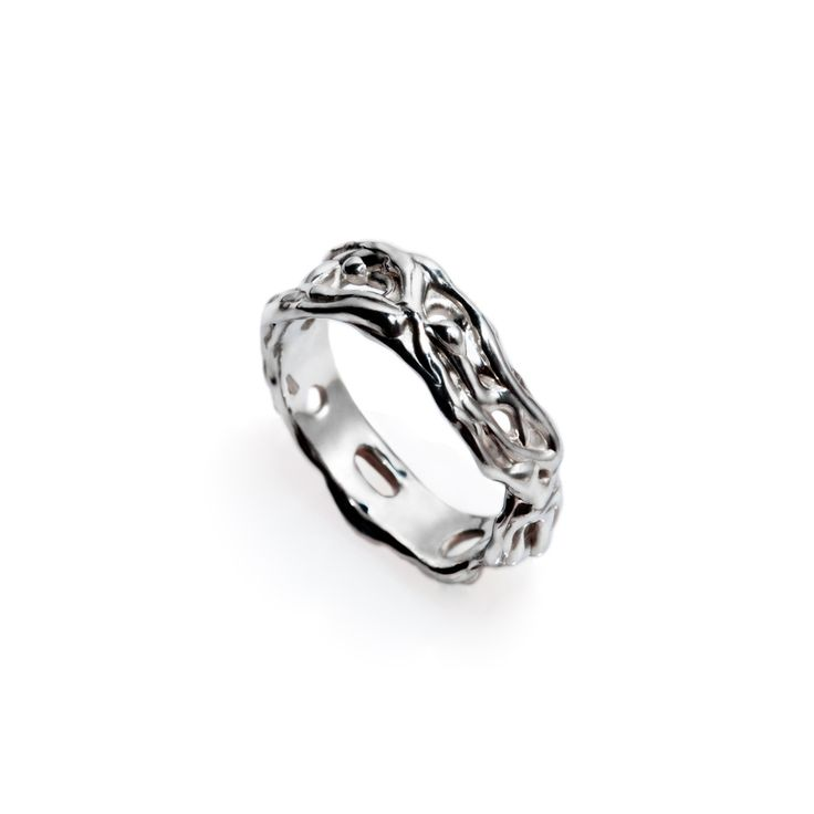 LIQUID RING #pulse_jewellery  #sterling #silver #925 #jewellery #jewelry #ring #rings #fluid #liquid