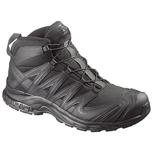 Salomon Forces XA Pro 3D Mid GTX All Black 2016 Model Black  85 >>> Details can be found by clicking on the image. (Amazon affiliate link)