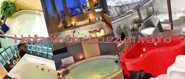 Habitación con jacuzzi Madrid