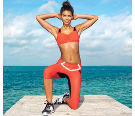 Beach Body Workout: Workouts: Self.com:Try this fast, get-results, no-equipment workout to feel ultra-confident in that two-piece.
