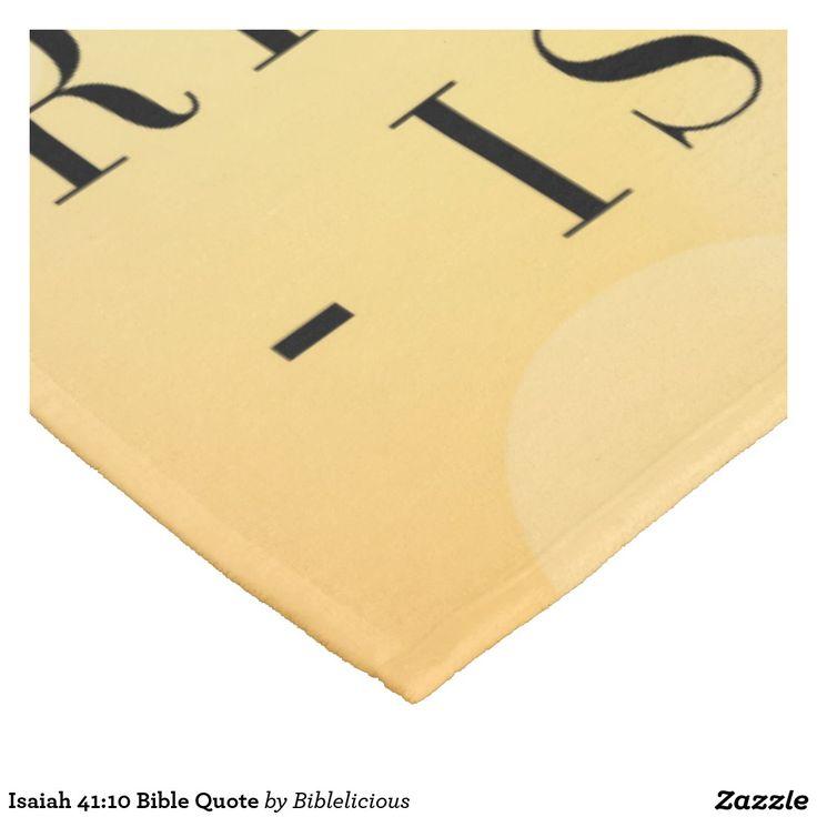 Isaiah 41:10 Bible Quote Fleece Blanket