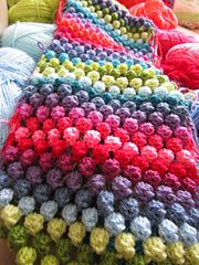 How To Crochet Bobble Stitch - YouTube
