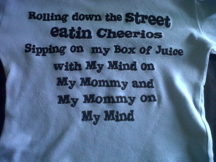 rolling down the street eating cheerios