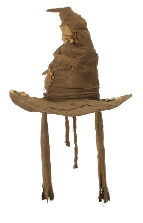 Amazon.com: One Size Adult Harry Potter Costume Sorting Hat - Brown: Clothing