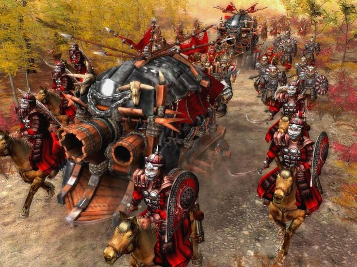 The armies of the Golden Horde moved westward ~ mostly fantasy but colourful.