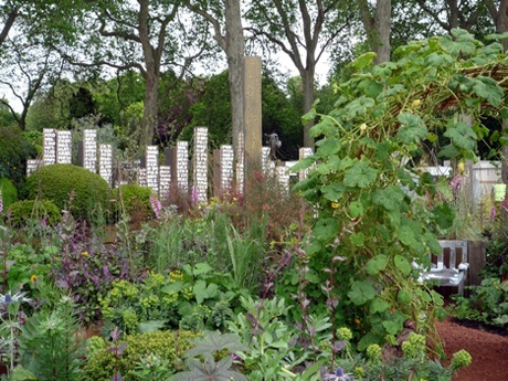 Inspiration rhs chelsea flower show poem gardens and for Garden design ideas rhs