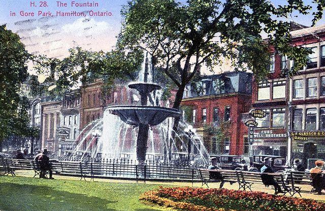 Gore Park, Hamilton, Ontario, Canada 1931